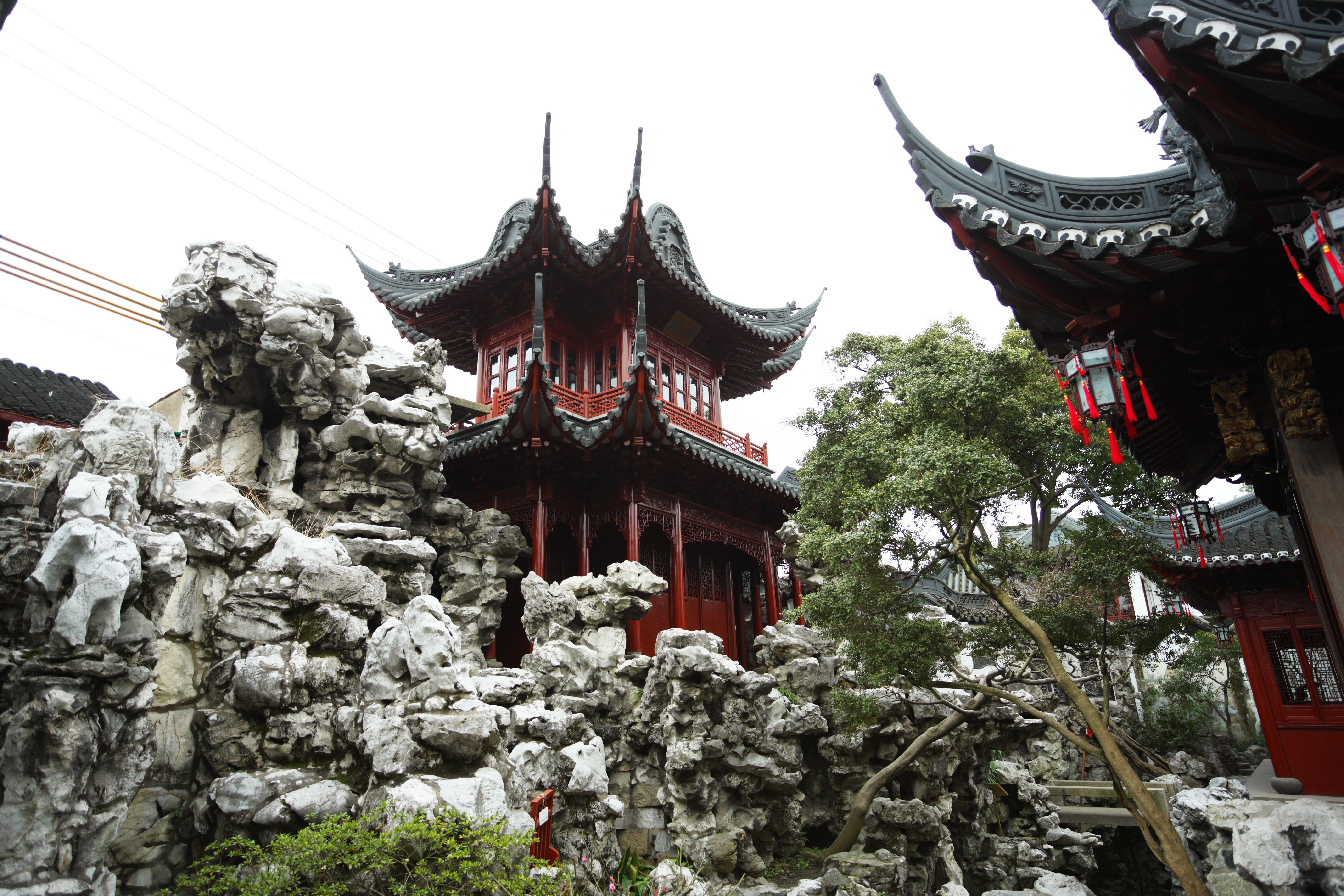 Yun gratis fotos no 7448 jard n de yuyuan china shangai for Jardin de china