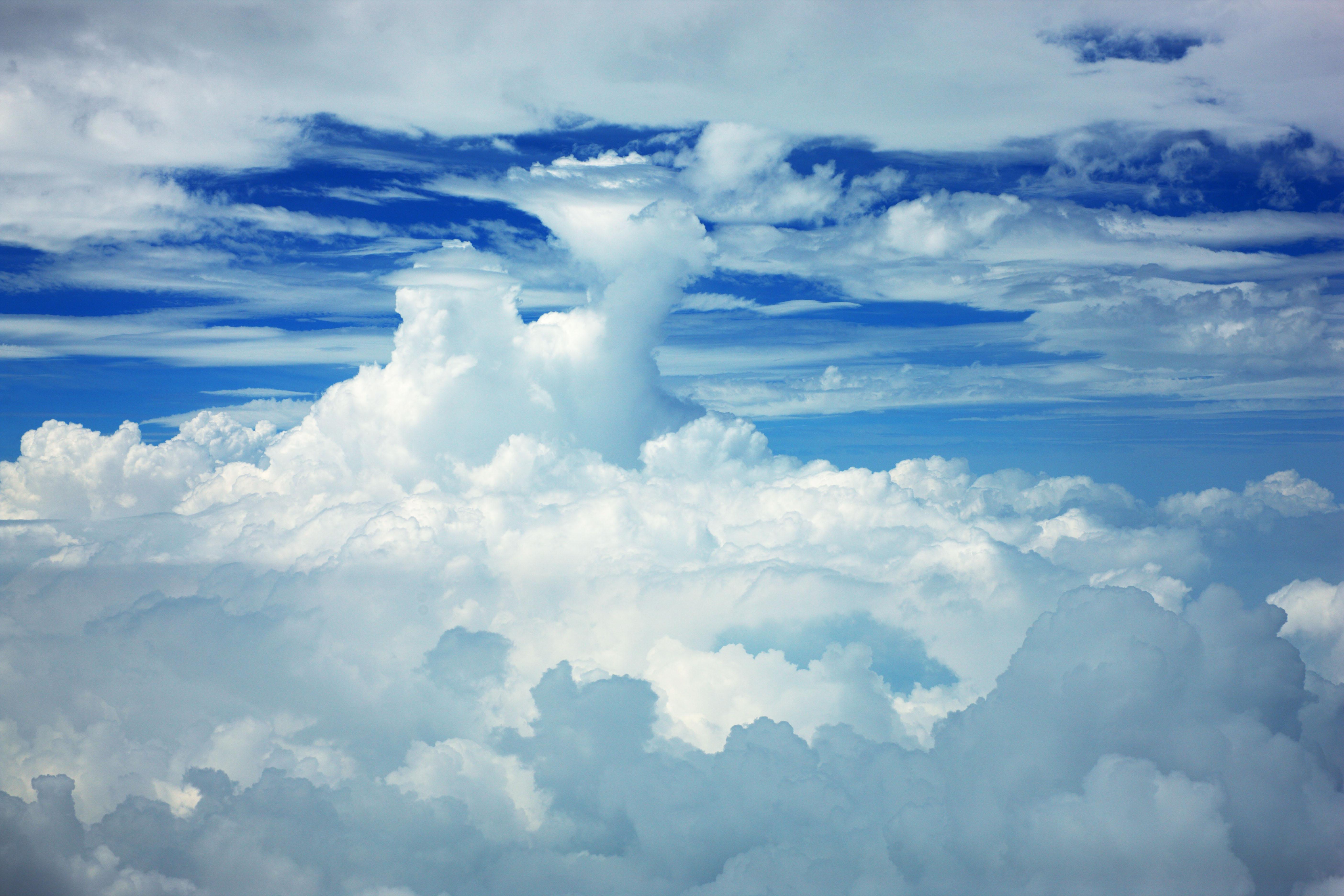 Как на сделать синим небо