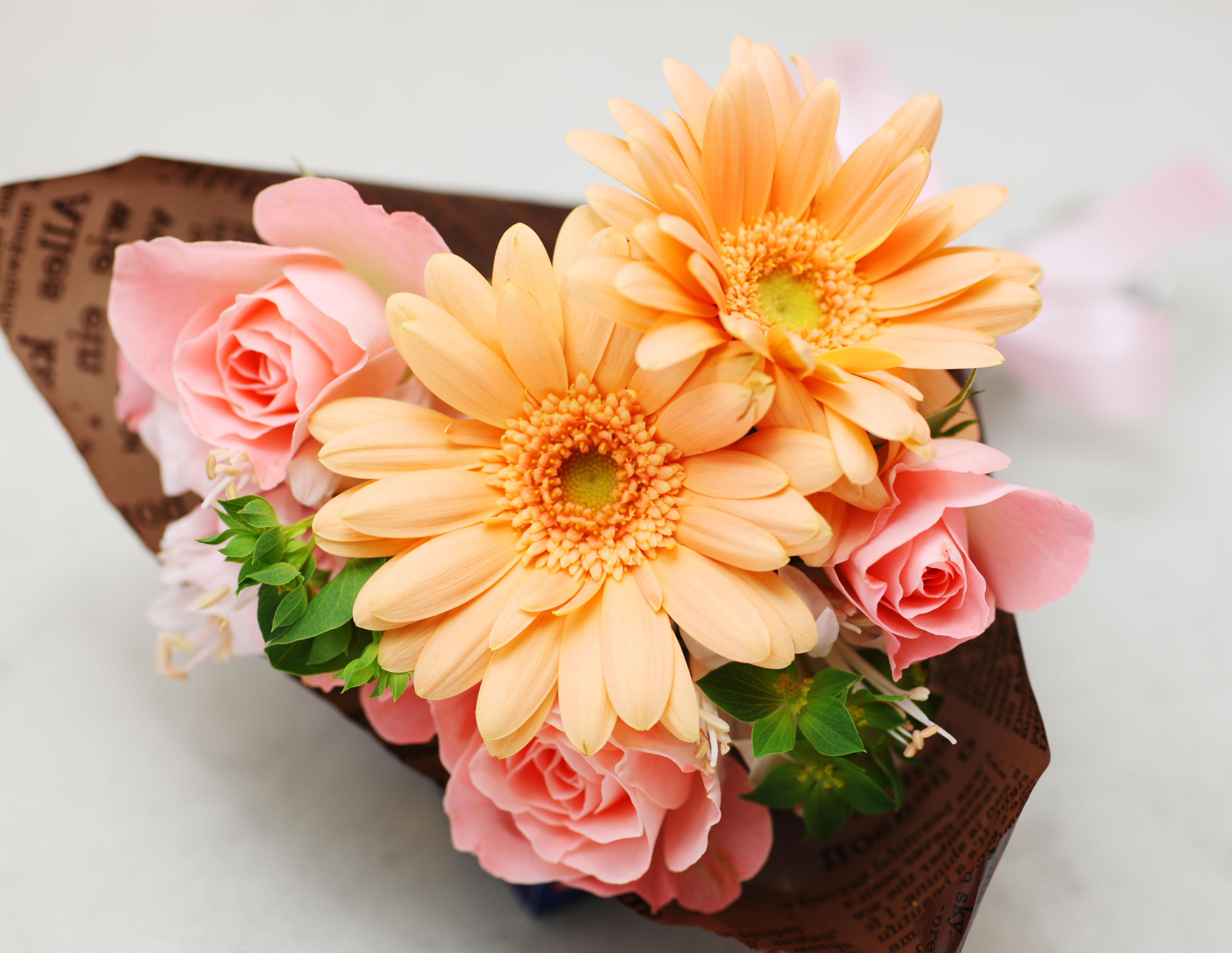 Фото букеты японские цветы