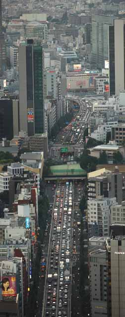photo,material,free,landscape,picture,stock photo,Creative Commons,According to Roppongi, Shibuya, traffic jam, car, Traffic