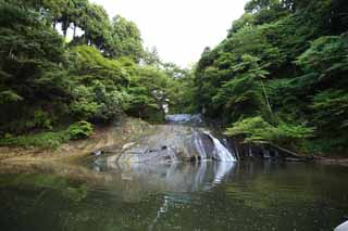 photo,material,free,landscape,picture,stock photo,Creative Commons,A waterfall of Kazusa Yoro, waterside, Yorokeikoku, hot spring, resort