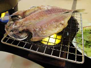 photo,material,free,landscape,picture,stock photo,Creative Commons,The difference of the horse mackerel, Japanese food, fish, dried fish, I warm it
