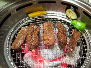 photo,material,free,landscape,picture,stock photo,Creative Commons,Calbee, Roasted meat, Beef, Charcoal fire ware, Korean food