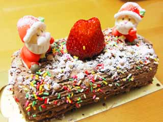 photo,material,free,landscape,picture,stock photo,Creative Commons,Buche de Noel , Cooking, Food, ,