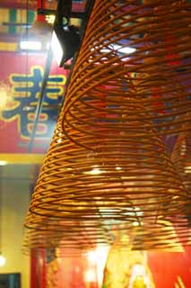 photo,material,free,landscape,picture,stock photo,Creative Commons,A huge eddy incense stick, Taoism, Faith, ,