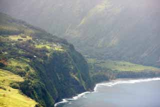 photo,material,free,landscape,picture,stock photo,Creative Commons,Island of Hawaii Waipio Valley, , , ,