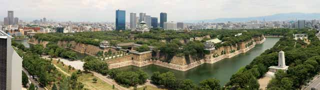 photo,material,free,landscape,picture,stock photo,Creative Commons,Osaka Castle, , , ,