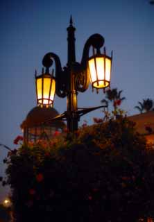 photo,material,free,landscape,picture,stock photo,Creative Commons,Marchen-style street lamps, lighting, street lamp, light, lamp