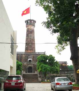 photo,material,free,landscape,picture,stock photo,Creative Commons,Thang Long ruins Flag Tower, , , ,