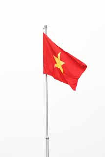 photo,material,free,landscape,picture,stock photo,Creative Commons,Vietnam national flag, , , ,