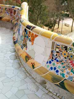 photo,material,free,landscape,picture,stock photo,Creative Commons,Park Guell, , , ,