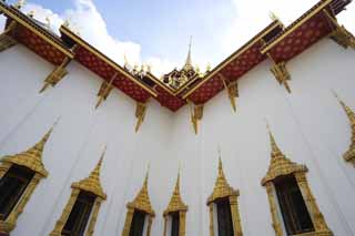 photo,material,free,landscape,picture,stock photo,Creative Commons,A DuSuitto shrine, Gold, Buddha, The royal palace, Sightseeing