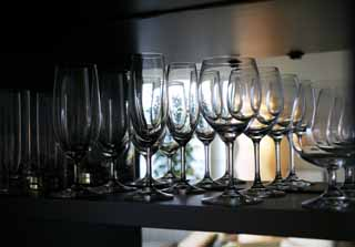 photo,material,free,landscape,picture,stock photo,Creative Commons,A row of glasses, wineglass, shelf, celebrity, High quality