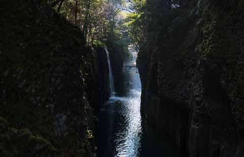 photo,material,free,landscape,picture,stock photo,Creative Commons,Takachiho-kyo Gorge, Ravine, scene, cliff, natural monument