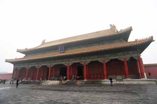photo,material,free,landscape,picture,stock photo,Creative Commons,Forbidden City Kazu Yasushi buttocks, The wooden building, , Imperial examination, Zhu coating