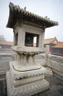 photo,material,free,landscape,picture,stock photo,Creative Commons,Forbidden City Light, Stone lantern, Reliefs, Decoration, World Heritage