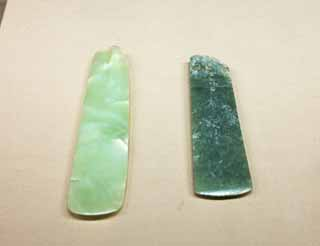 photo,material,free,landscape,picture,stock photo,Creative Commons,Jade axe and Jade Spade, Jade, Ancient people, Jewelry, History