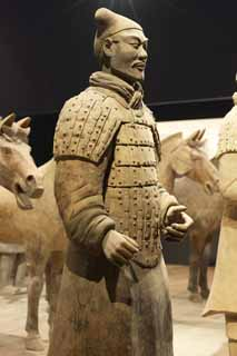 photo,material,free,landscape,picture,stock photo,Creative Commons,Terracotta Warrior, Terra Cotta Warriors, Ancient people, Tomb, World Heritage