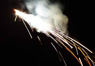 photo,material,free,landscape,picture,stock photo,Creative Commons,The ray of light of fireworks, Fireworks, Gunpowder, Play, toy