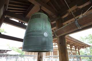photo,material,free,landscape,picture,stock photo,Creative Commons,Toshodai-ji Temple bell tower, fire bell, world heritage, Buddhist monastery, Chaitya