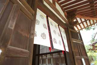 photo,material,free,landscape,picture,stock photo,Creative Commons,Toshodai-ji Temple lecture hall, The Imperial Court architecture, wooden building, Buddhist monastery, Chaitya
