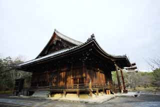 photo,material,free,landscape,picture,stock photo,Creative Commons,Ninna-ji Temple Kannondo, Japanese architectural style, The Kannon-with-One-Thousand-Arms, Chaitya, world heritage