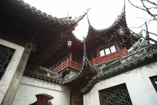 photo,material,free,landscape,picture,stock photo,Creative Commons,Mt. Yuyuan Garden command temple, Joss house garden, , Chinese food style, Chinese building