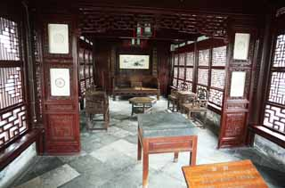 photo,material,free,landscape,picture,stock photo,Creative Commons,Yuyuan Garden, Joss house garden, , Chinese food style, Furniture