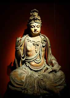 photo,material,free,landscape,picture,stock photo,Creative Commons,It is a statue of Budda in the days of money, Buddhism, The ancients, Buddha, sculpture