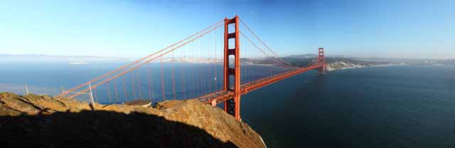 photo,material,free,landscape,picture,stock photo,Creative Commons,A Golden Gate Bridge, The Golden Gate Bridge, The straits, sea, tourist attraction