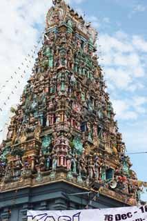 photo,material,free,landscape,picture,stock photo,Creative Commons,Raja Mariamman Devasthanam Temple, Hinduism, , Rich coloring, Gods