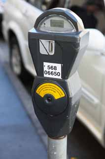 photo,material,free,landscape,picture,stock photo,Creative Commons,A parking meter, Parking, road, car, Traffic regulations