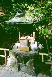 photo,material,free,landscape,picture,stock photo,Creative Commons,Small shrine, Ginkakuji, small shrine, ,