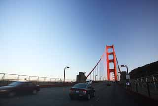 photo,material,free,landscape,picture,stock photo,Creative Commons,A Golden Gate Bridge, The Golden Gate Bridge, The straits, highway, tourist attraction