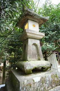 photo,material,free,landscape,picture,stock photo,Creative Commons,Ishigami major shrine stone lantern, The Japanese Chronicle of Japan, description of folk history, stone lantern, light