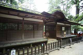 photo,material,free,landscape,picture,stock photo,Creative Commons,Ishigami major shrine Tateo Izumo Shrine front shrine, The Japanese Chronicle of Japan, description of folk history, wooden building, lattice door