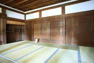 photo,material,free,landscape,picture,stock photo,Creative Commons,The Inuyama-jo Castle castle tower, white Imperial castle, tatami mat, castle,