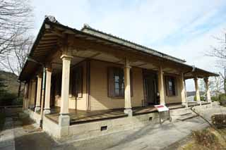 photo,material,free,landscape,picture,stock photo,Creative Commons,The 25th Meiji-mura Village Museum Nagasaki settlement building, building of the Meiji, The Westernization, Western-style building, Cultural heritage