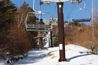 photo,material,free,landscape,picture,stock photo,Creative Commons,A ski lift, lift, ski, Winter sports, Leisure